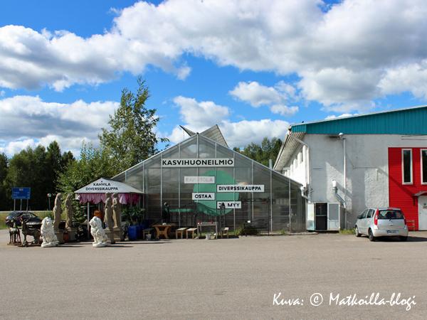 Kasvihuoneilmiö. Kuva: © Matkoilla-blogi
