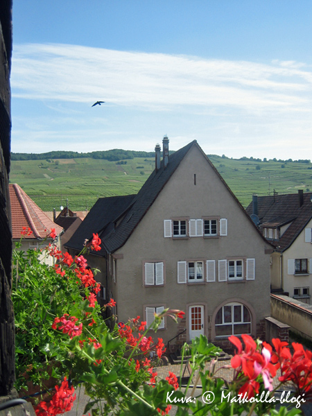 Näkymä hotellin ikkunasta. Kuva: © Matkoilla-blogi