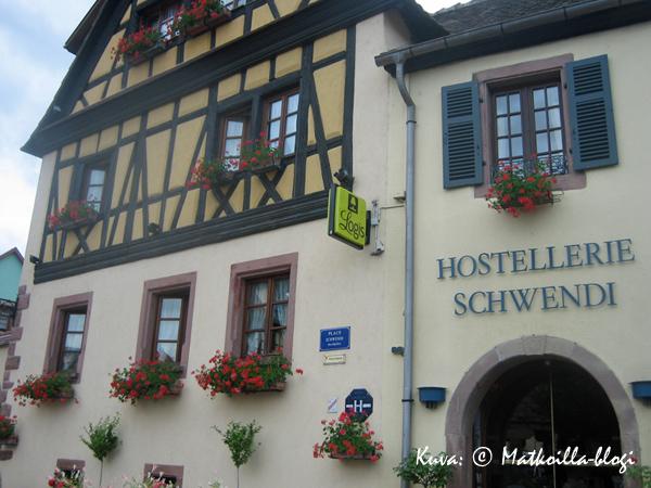 Hotel Schwendi, Kientzheim. Kuva: © Matkoilla-blogi