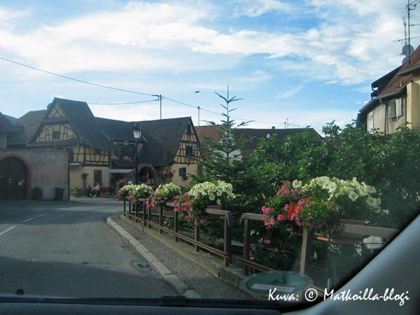 """Alsacen pienet kukkaiskylät (""""Ville Fleurie"""") on jaettu eri kategorioihin kukkaloiston mukaan. Kuva: © Matkoilla-blogi"""