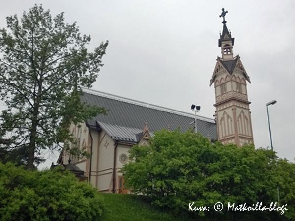 Kajaanin kirkko. Kuva: © Matkoilla-blogi