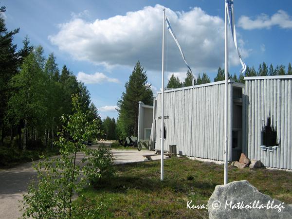 Raatteenportti - museorakennus. Kuva: © Matkoilla-blogi