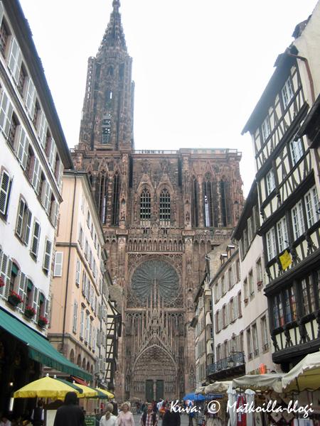 Cathédrale Notre-Dame de Strasbourg. Kuva: © Matkoilla-blogi