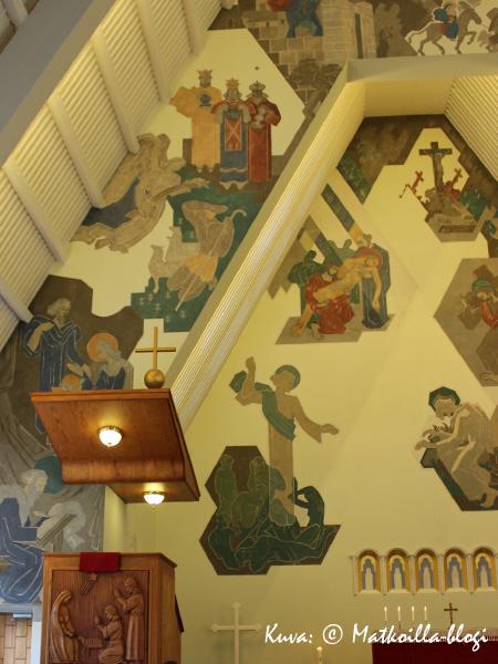 Suomussalmen kirkko. Kuva: © Matkoilla-blogi