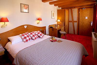 Kahden hengen huone. Kuva: Hotel Beaucour, Strasbourg