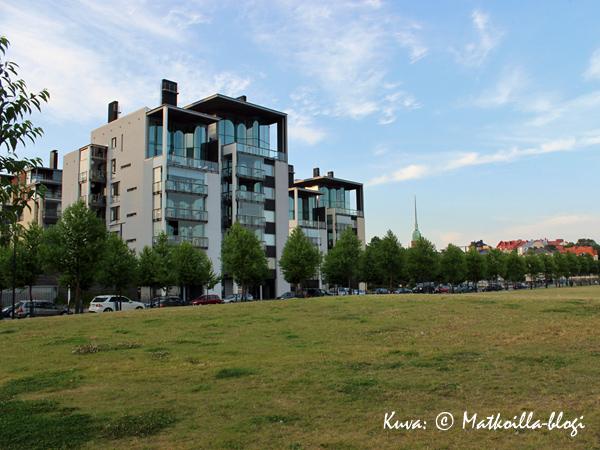 Uutta ja uljasta Hernesaarta. Kuva: © Matkoilla-blogi