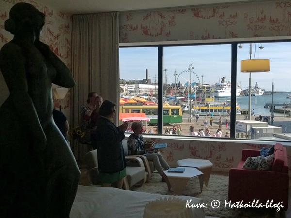 A room with a view - todellakin! Kuva: © Matkoilla-blogi