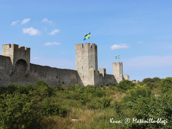 Visbyn kaupunkimuurien ulkopuolella käytiin verinen taistelu vuonna 1361. Kuva: © Matkoilla-blogi
