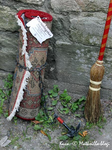 Keskiaikainen sakotus. Kuva: © Matkoilla-blogi