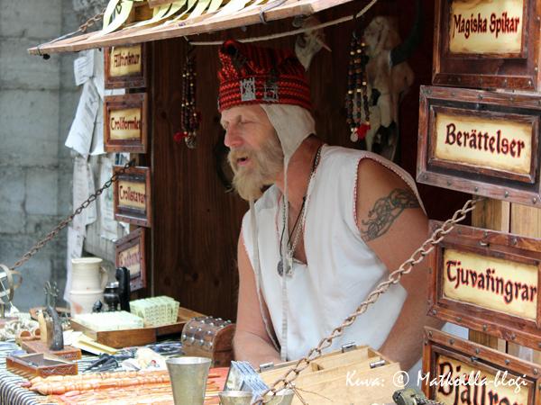 Velhojen kujalla myytiin velhotarvikkeita. Kuva: © Matkoilla-blogi