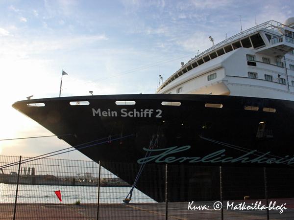 """""""Mein Schiff 2"""". Kuva: © Matkoilla-blogi"""