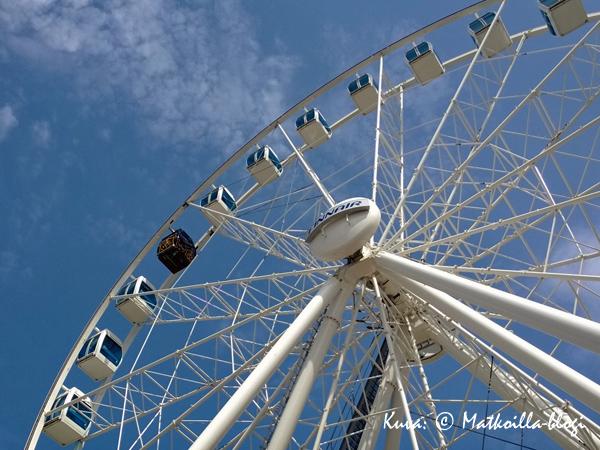 Finnair Sky Wheel. Kuva: © Matkoilla-blogi