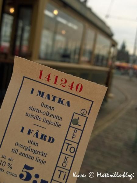Asianmukainen matkalippu - etäluettava kortti ei käy.... Kuva: © Matkoilla-blogi