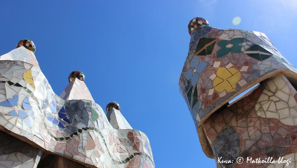 Kuukauden kuva, syyskuu 2014: Casa Batlló, Barcelona. Kuva: © Matkoilla-blogi