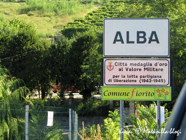 Alba - kukkakaupunki. Kuva: © Matkoilla-blogi
