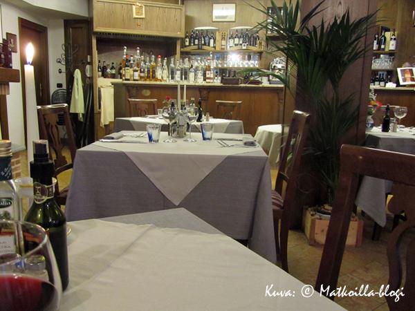 Ensimmäisen illan ravintolamme, Conterosso. Kuva: © Matkoilla-blogi