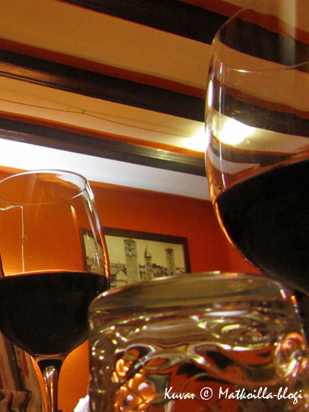 Kolmannen illan ravintolamme, Osteria del Vecchi Gallo. Kuva: © Matkoilla-blogi