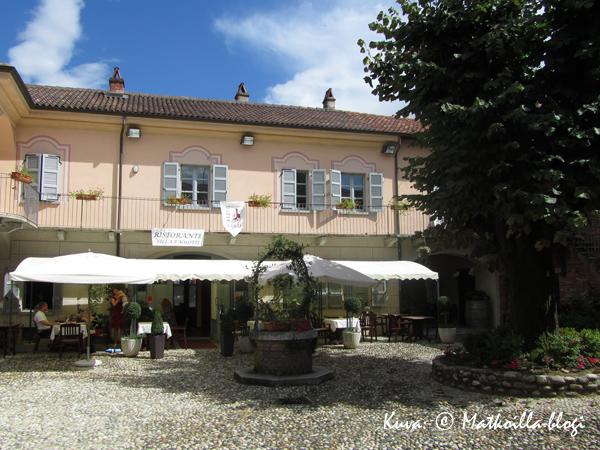 Ristorante Villa Paolotti. Kuva: © Matkoilla-blogi