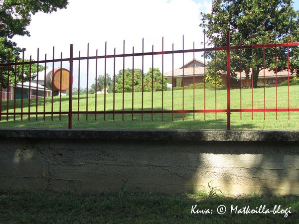 Gattinara Travaglini-viinitalon päärakennus. Kuva: © Matkoilla-blogi