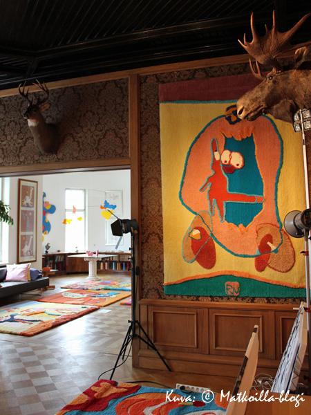 Riitta Nelimarkan ateljee. Kuva: © Matkoilla-blogi