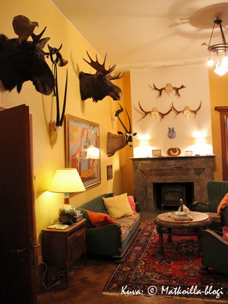 Bongan linnassa on hieman metsästyslinnan tuntua. Kuva: © Matkoilla-blogi