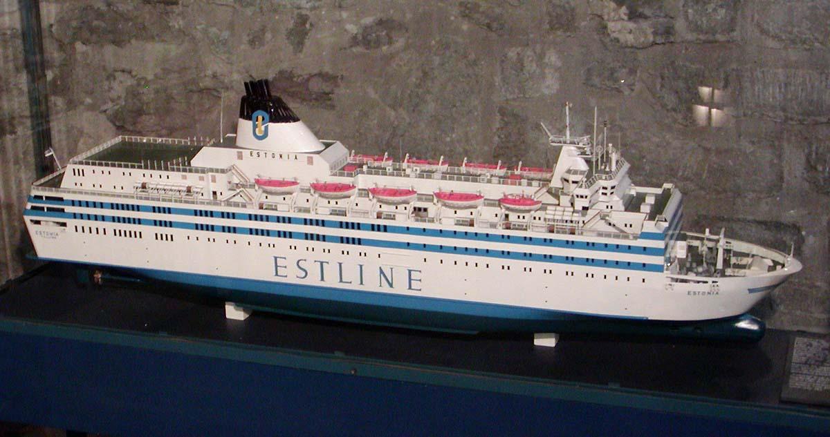 Estonian pienoismalli Tallinnan merimuseoss. Kuva: Stan Shebs, Wikimedia Commons
