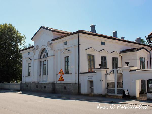 Pietarsaaren kaupunginmuseo, Malmska gården. Kuva: © Matkoilla-blogi