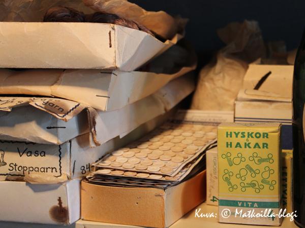 …ja ompelutarvikkeisiin. Kuva: © Matkoilla-blogi