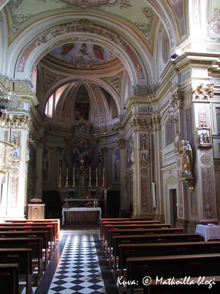 Rodellon kirkko. Kuva: © Matkoilla-blogi