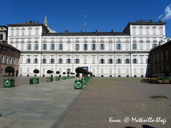 Palazzo Reale. Kuva: © Matkoilla-blogi