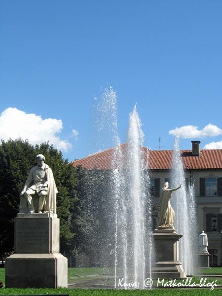 Puistoja, patsaita ja suihkulähteitä. Kuva: © Matkoilla-blogi