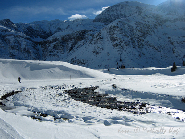 Sportgastein Gasteinin laaksossa, jossa meidän hiihtomatkailijauramme alkoi. Tulevana talvena suuntaamme hiihtomatkalle jo kymmenettä kertaa! Kuva: © Matkoilla-blogi