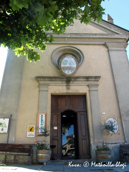Barbarescon vanha kirkko… . Kuva: © Matkoilla-blogi