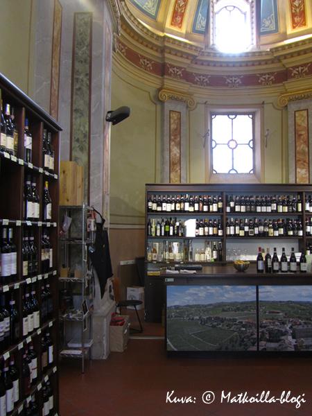 …osoittautuikin viinikaupaksi. Kuva: © Matkoilla-blogi