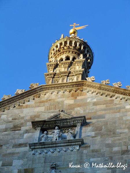 Comon tuomikirkkoa ryhdyttiin rakentamaan jo 1400-luvulla, lopullisesti se valmistui kuitenkin vasta vuonna 1740. Kuva: © Matkoilla-blogi