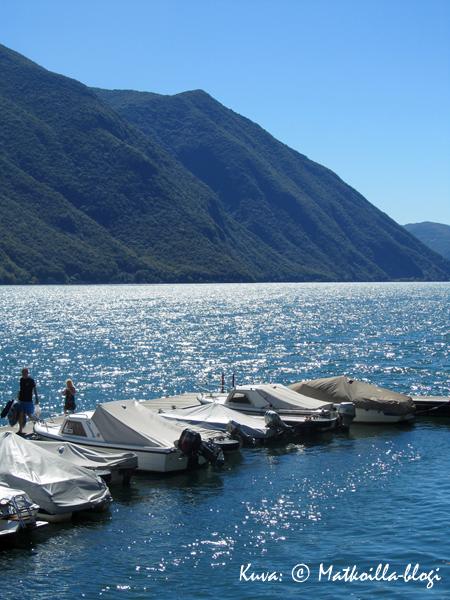 Luganojärvi. Kuva: © Matkoilla-blogi
