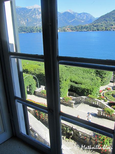 Villa Carlottan ikkunankäymiä. Kuva: © Matkoilla-blogi