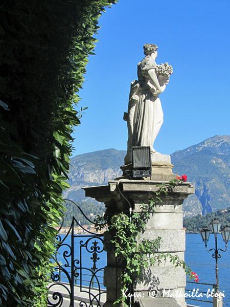 Villa Carlottan portti. Kuva: © Matkoilla-blogi