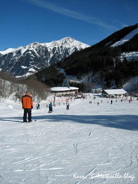 Talvilomalla Gasteinin laaksossa talvella 2006; Angertal Kuva: © Matkoilla-blogi