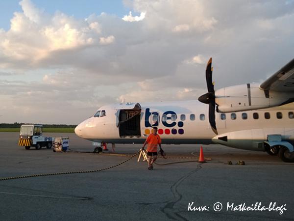 Mitä kotimaan lentokoneissa lukeekaan tulevaisuudessa? Kuva: © Matkoilla-blogi