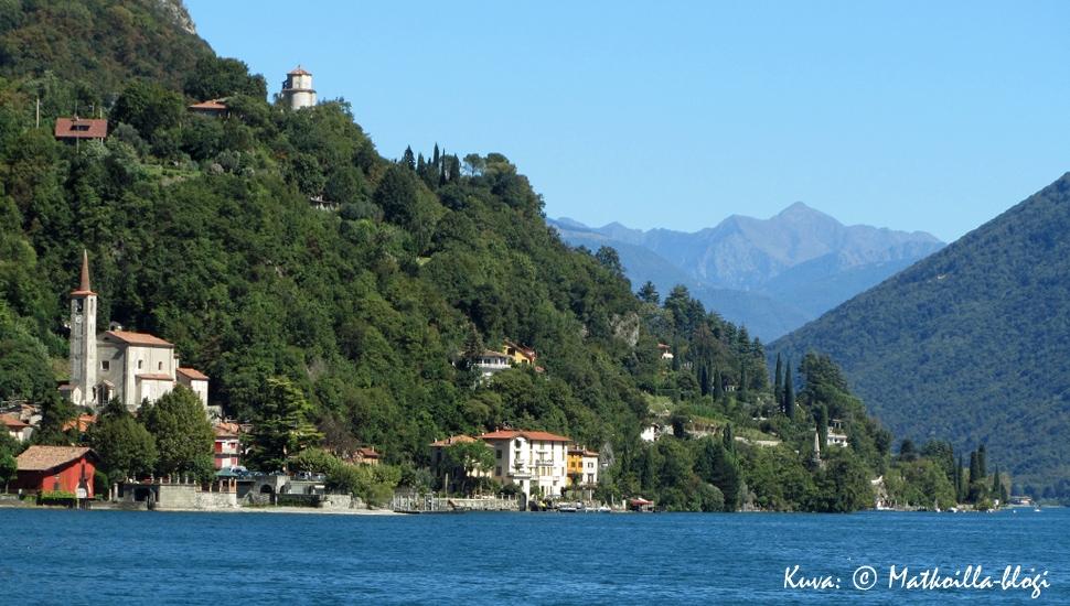 Luganojärvi, syyskuu 2010. Kuva: © Matkoilla-blogi