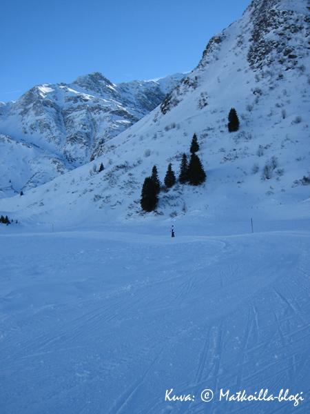Talvilomalla Gasteinin laaksossa talvella 2006; Sportgastein. Kuva: © Matkoilla-blogi