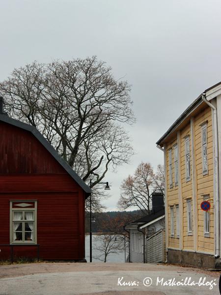 Tammisaaren vanhakaupunki. Kuva: © Matkoilla-blogi