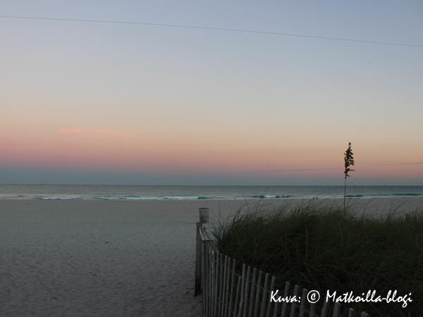 South Beach Miamin illassa. Kuva: © Matkoilla-blogi