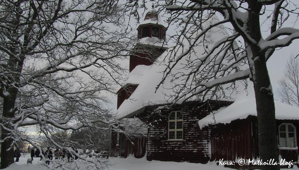 Tukholma: Segloran kirkko Skansenilla. Kuva: © Matkoilla-blogi