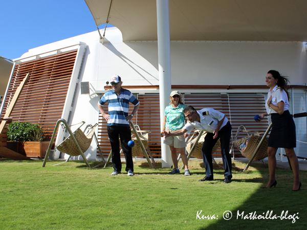 …heittotyyli oli viimeisen päälle pro... Kuva: © Matkoilla-blogi