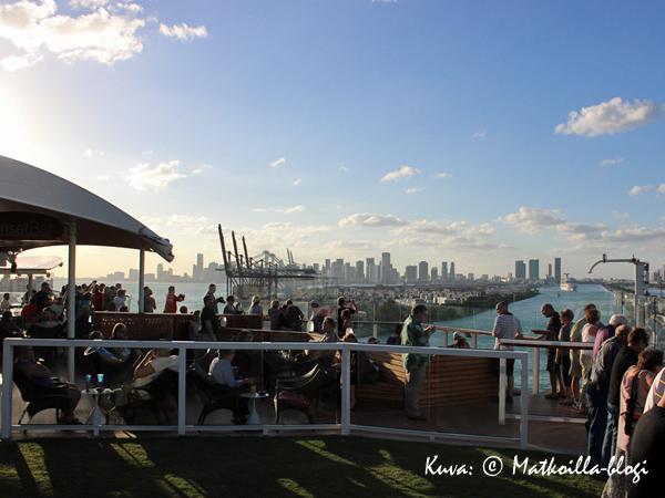 Ankkurit ylös ja goodbye for now Miami! Kuva: © Matkoilla-blogi