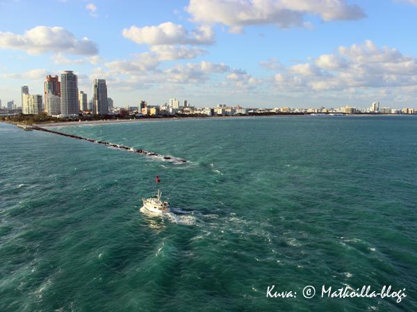 Miami South Beach Reflectionin kannelta. Kuva: © Matkoilla-blogi