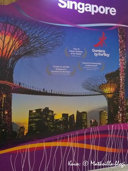 Singapore - ainakin yksi oikein tärppilistalta… . Kuva: © Matkoilla-blogi
