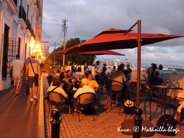 Seuraavan kerran kun San Juanissa haetaan terassibaaria suunnataan Calle del Criston ja Calle Tetuanin kulmassa olevaan baariin. Kuva: © Matkoilla-blogi